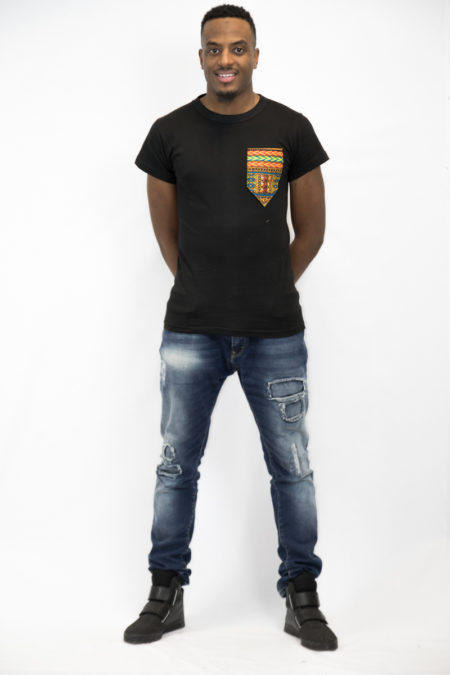 T-shirt en wax etipi