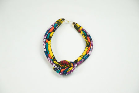 Collier en wax JM ENZO R